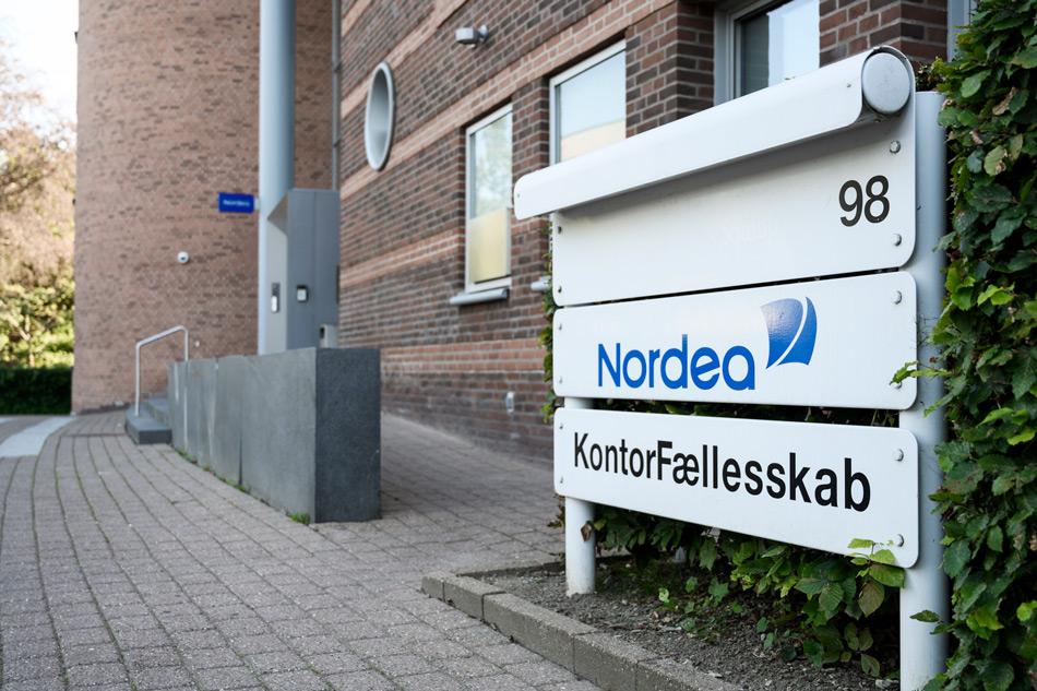Indgang til klinikken, Lyngby